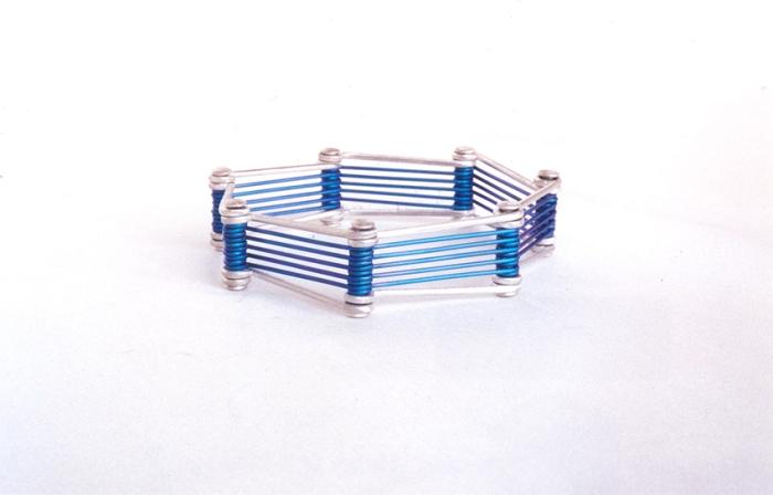 Bracelet argent-titane 2002 2